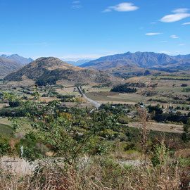 East-south-east at Crown Terrace above Arrowtown