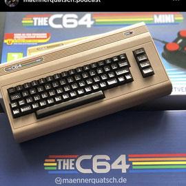 Wir sprechen in dieser Sonderfolge des Männerquatsch Podcast über Videospiele-Erinnerungen und im besonderen über den C64.