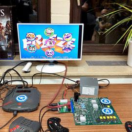 COJAG Arcade Board auf dem ejagfest 2017, Männerquatsch Podcast #14 (Ausflug: ejagfest 2017 & Amiga32, C65 Prototyp, Netzneutralität)