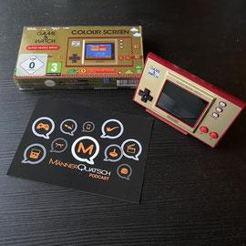 In Folge #90 des Männerquatsch Podcast, sprechen wir über 3D gedruckte Ständer für den Game & Watch: Super Mario Bros.
