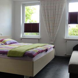 Wohn- Schlafraum Ferienwohnung 2 mit Schlafcouch