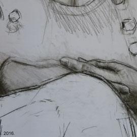 Maternité. By Nicolas Borderies, detail.