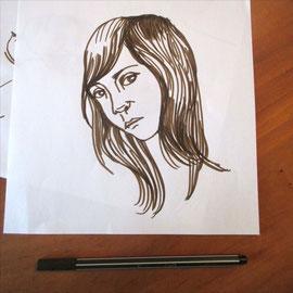 Zeichnung Figur