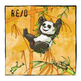 Zeichnung Panda