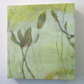 Gemälde Pigment auf Holz