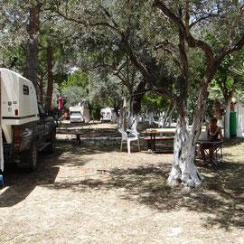 le camping de Kusadasi
