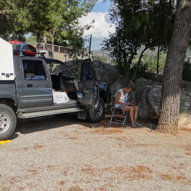 repos au camping