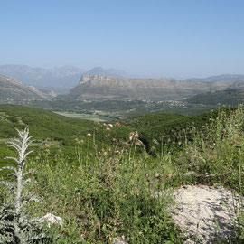 Beau paysage de Grèce