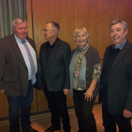Holger Andrée, Hans Eichel, Christel Trautmann, Dieter Kirschhoch