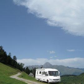 Blick zum Pic du Midi