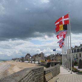Gedenkstätte in St.-Aubin-sur-Mer
