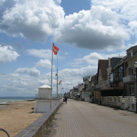 Uferpromenade in St.-Aubin-sur-Mer