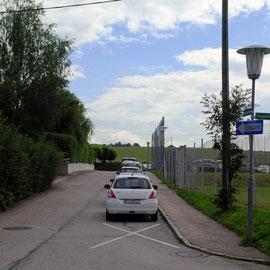 Einbahn Einfahrt Kreuzung Augustinerstraße