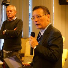 Greetings from Mr. Makoto Yamamoto