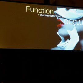 """JAVIER VASQUEZ """"Function: the New Definition of Occlusion"""""""