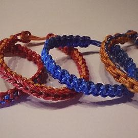 Pulseras varios modelos con Cuerda de montaña.