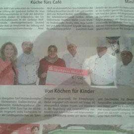 Auch vom 20.09., zu Gunsten des Kinderhospitzvereins Gießen.