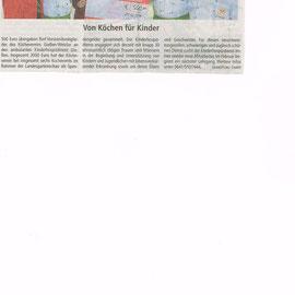 Spendenübergabe von der Livecooking-Aktion auf der Landesgartenschau am UNICEF Weltkindertag, 20.09.14