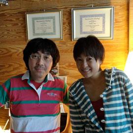 河合美智子さんと。もう一枚!!