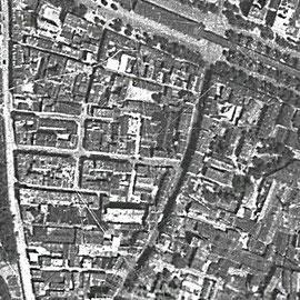 Ilot Glacière vue d'avion en 1949 (GoogleEarth)