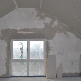 sieht gleich ganz anders aus, auch wenn die Wände noch etwas feucht sind