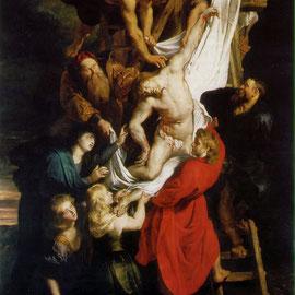 En 1616, il peint La descente de la Croix.