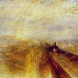William Turner, Pluie, vapeur, vitesse, le Great Western Railway, 1844.