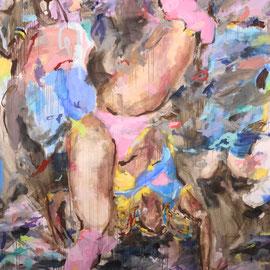 Boots 2017 | acrylic on canvas | 195 x 270 cm