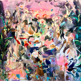 That Day Will Come 2020 | acrylic on canvas | 200 x 210 cm