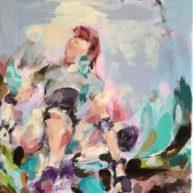 Position 2021 | oil, acrylic on canvas | 50 x 40 cm