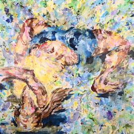 Party Animal 2018 | acrylic on canvas | 220 x 200 cm