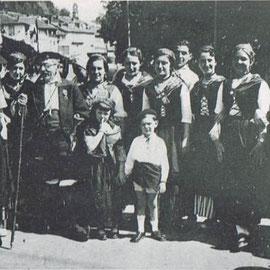 Es Maïtnages de Mountejeau - 1933 (groupe fondé avec France Larrieu et Charles Roussely)