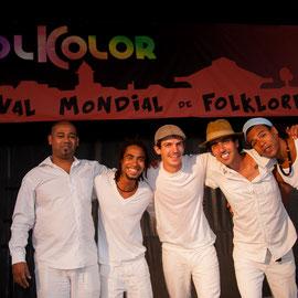 Carlos Valverde & le Forro Pifado (Brésil) - Photo Philippe Mourembles FOLKOLOR 2014
