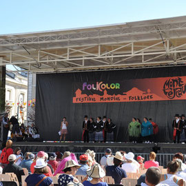 "Grupo Promocion Folklore Extremeno ""Caramancho"" (Don Benito - Espagne)  - Photo Ph.M/FOLKOLOR 2013"
