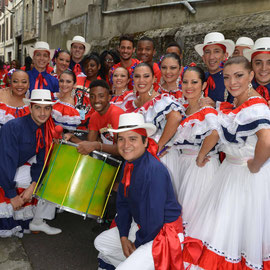 Compañia Folclórica Matambú (Costa Rica) - Photo Georges Sigro - FOLKOLOR 2014