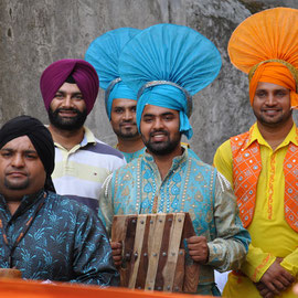 Punjabi Bhangra Folk (Mohali - Inde) Photo Ph.M/FOLKOLOR 2013