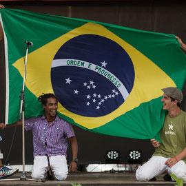 Carlos Valverde & le Forro Pifado (Brésil) - Photo Michel Renard FOLKOLOR 2014