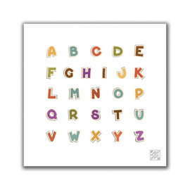 Alphabet Splash Mat