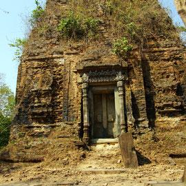 Die fast unbekannte Anlage von Sambor Pre Kuk.