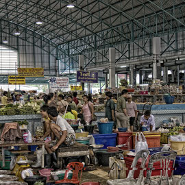 Markthalle in Chaam