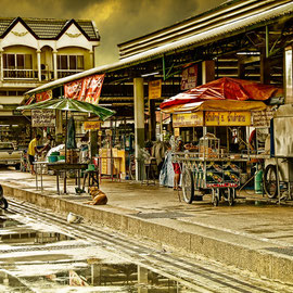 Markt in Chaam