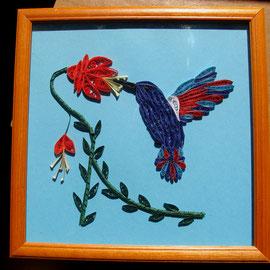 colibrì-quilling