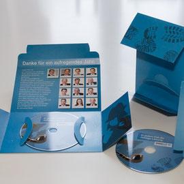 Mailpac zum Postversand mit einer CD, 4/4-farbig bedruckt
