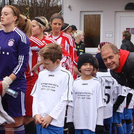 Sponsor Christian Lerf meets TSV und FCB
