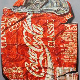 COLA CLASSIC, 2013 - 250 x 200 cm - Öl auf Leinwand