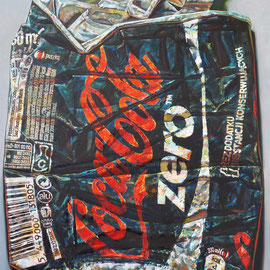 COLA ZERO, 2014 - 200 x 160 cm - Öl auf Leinwand