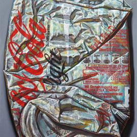 COLA LIGHT, 2013 - 200 x 160 cm - Öl auf Leinwand