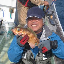 メガラを釣りに行きました