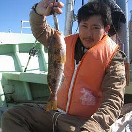 浅場の釣りに