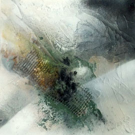Reflection II - 40 x 40 cm x 4 cm - 2016
